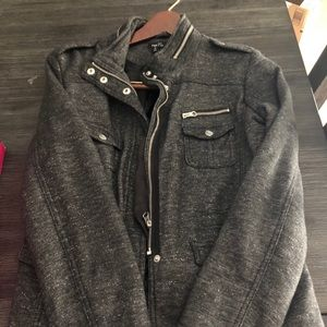 Rue 21 Size Large Gray Jacket pre worn
